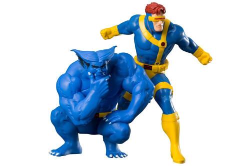 Kotobukiya MK257 ARTFX+ X-MEN Cyclops & Beast Set of 2 1/10 Scale Figure