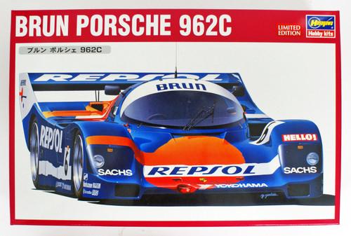 Hasegawa 20345 Brun Porsche 962C 1/24 Scale kit