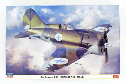 Hasegawa 08254 Finnish Air Force Polikarpov I-16 1/32 Scale kit
