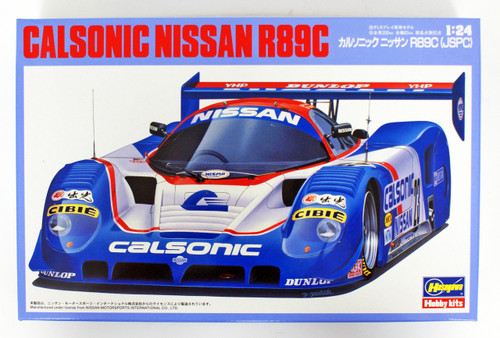 Hasegawa 20245 Calsonic Nissan R89C (JSPC) 1/24 scale kit