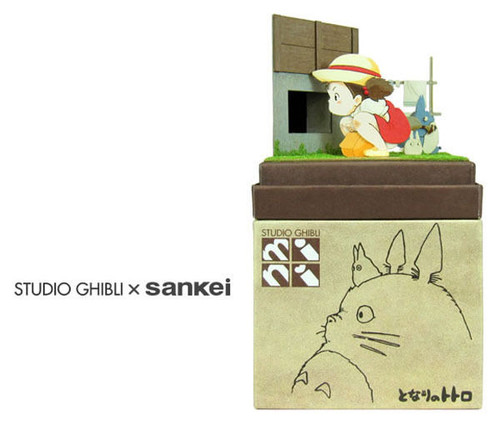 Sankei MP07-46 Studio Ghibli I Found a Small Totoro My Neighbor Totoro NonScale Paper Kits