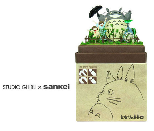 Sankei MP07-49 Studio Ghibli Dondoko Dance (My Neighbor Totoro) Non-Scale Paper Kits