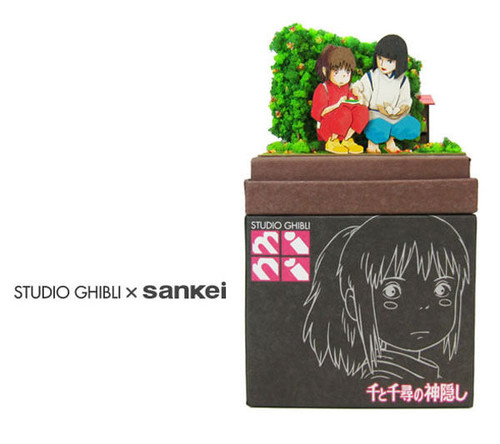 Sankei MP07-58 Studio Ghibli Haku's Rice Ball (Spirited Away) - Non Scale Paper Kits