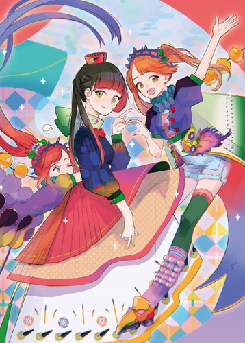 Epoch Jigsaw Puzzle 06-093 Toinana Colorful Girls (500 Pieces)