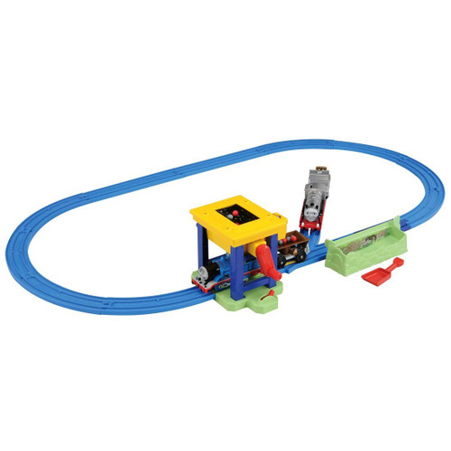 Takara Tomy Pla-Rail Thomas and Merlin Coal Hopper Set 977759