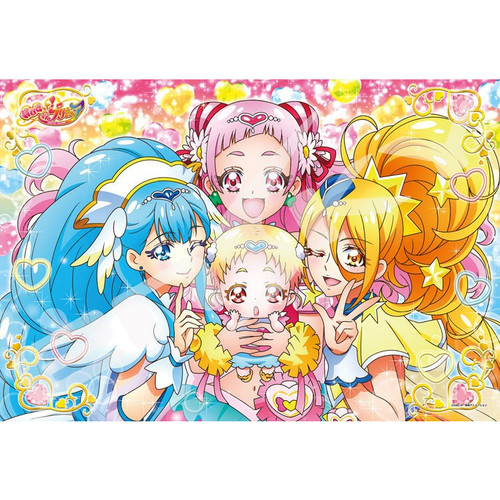 Ensky Jigsaw Puzzle 108-L707 Hugtto! PreCure Pretty Cure (108 L-Pieces)