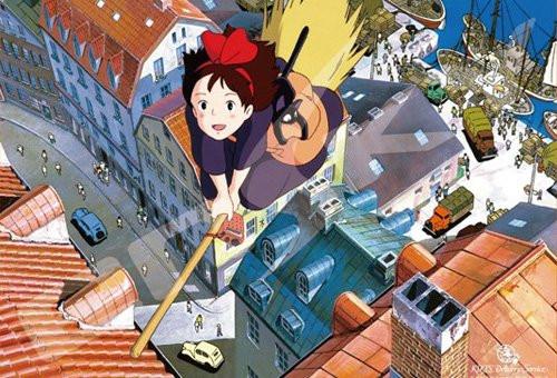 Ensky Jigsaw Puzzle 500-277 Kiki's Delivery Studio Ghibli (500 Pieces)