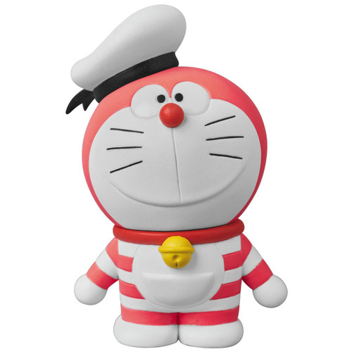 Medicom UDF-402 Doraemon Movie: Nobita's Treasure Island Mini Doraemon (Red)