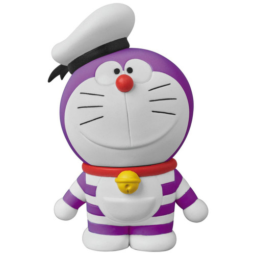 Medicom UDF-404 Doraemon Movie: Nobita's Treasure Island Mini Doraemon (Purple)