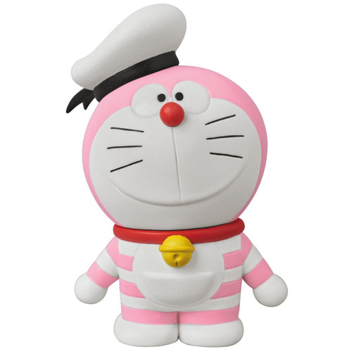 Medicom UDF-405 Doraemon Movie: Nobita's Treasure Island Mini Doraemon (Pink)