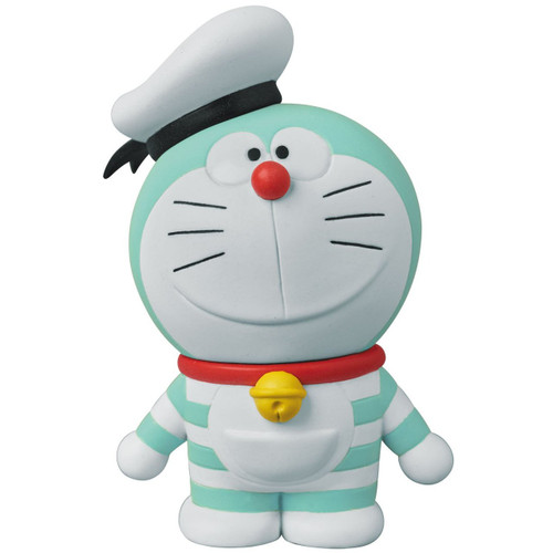 Medicom UDF-406 Doraemon Movie: Nobita's Treasure Island Mini Doraemon (Aqua)