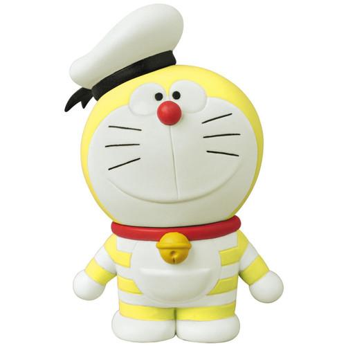 Medicom UDF-407 Doraemon Movie: Nobita's Treasure Island Mini Doraemon (Yellow)