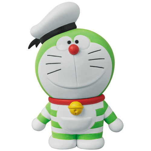 Medicom UDF-408 Doraemon Movie: Nobita's Treasure Island Mini Doraemon (Yellow-Green)