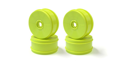 Kyosho IFH006KY-H Hard Dish Wheel (4pcs/F-Yellow/MP9 TKI4)
