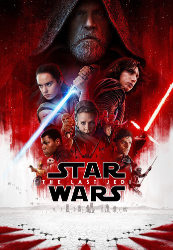 Tenyo Japan Jigsaw Puzzle W-1000-669 Star Wars The Last Jedi (1000 Pieces)