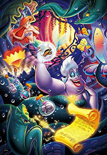Tenyo Japan Jigsaw Puzzle DPG-500-215 Disney Little Mermaid Ursula (500 S-Pieces)