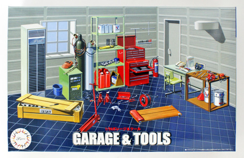 Fujimi GT15 116358 Garage & Tools 1/24 scale kit