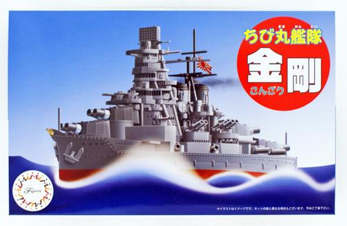 Fujimi TK3EX-1 Chibi-maru Kantai Fleet Battleship Kongo non-Scale Kit w/ Photo-etched Parts