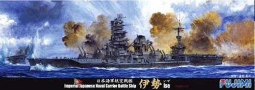 Fujimi TOKU 39EX-1 IJN Aircraft Cruiser ISE Special Version (Wooden Deck Sticker/ Metal Gun Barrel included) 1/700 scale kit