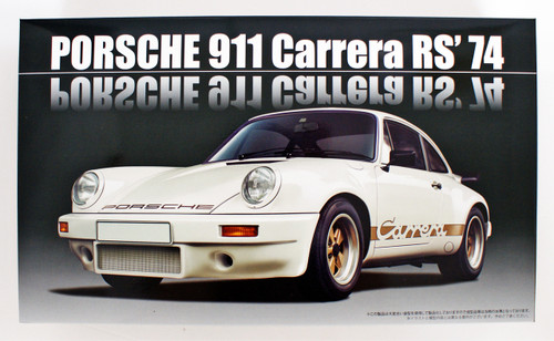 Fujimi RS-119 Porsche 911 Carrera RS '74 1/24 Scale kit