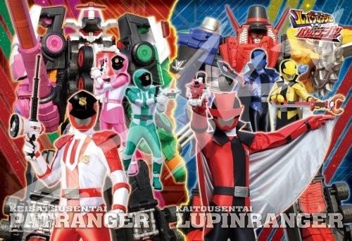 Ensky Jigsaw Puzzle 108-L709 Kaitou Sentai Lupinranger VS Keisatsu Sentai Patranger (108 L-Pieces)