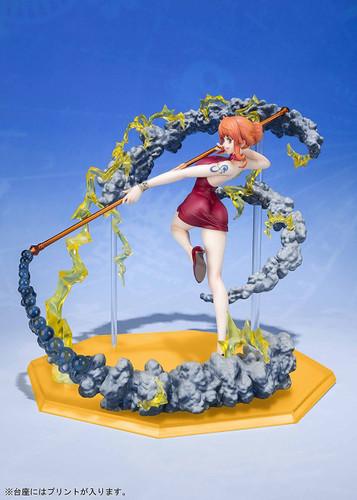 Bandai Figuarts ZERO One Piece Nami Black Ball Figure