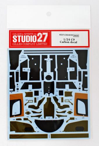 Studio27 ST27-CD24030 Sauber C9 Carbon Decal for Tamiya 1/24