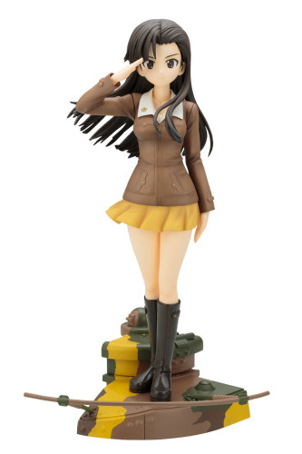 Kotobukiya PP699 Kinuyo Nishi 1/7 Scale Figure (GIRLS und PANZER der Film)