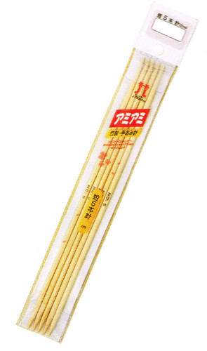 Hamanaka H250-300-4 Knitting Needle (Bamboo) 20cm No.4 (3.3mm)