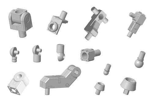Kotobukiya MSG Modeling Support Goods MJ06 Mecha-Supply Joint Set B