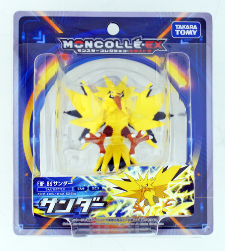 Takara Tomy Pokemon Moncolle EX EHP_04 Zapdos (Thunder) (113829)