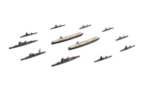 Fujimi Gunkan 11 401461 A-gou Strategy Ozawa Fleet Set (Shokaku/Zuikaku) w/ Carrier‐based Aircrafts 1/3000 scale kit