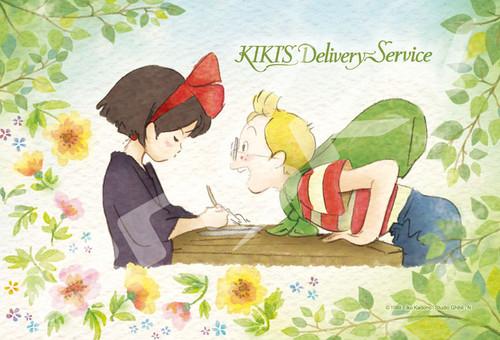 Ensky Jigsaw Puzzle 150-G52 Kiki's Delivery Service Kiki & Tombo Studio Ghibli (150 S-Pieces)