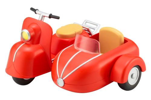 Kotobukiya ADE55 Cu-poche Extra Bike & Sidecar (Cherry Red)