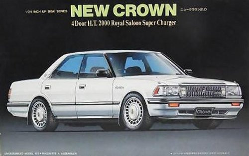 Fujimi ID-32 Toyota Crown 130 Series 2000 Royal Saloon Super Charger 1/24 Scale kit