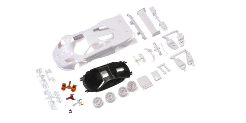 Kyosho MZN192 McLaren F1 GTR White body set (w/Wheel)