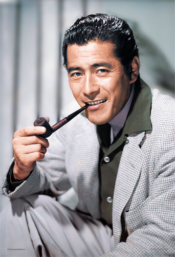 Yanoman Jigsaw Puzzle 01-2062 Japanese actor Toshiro Mifune (108 L-Pieces)