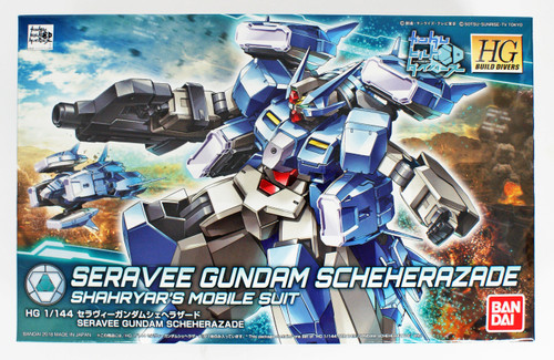 Bandai HG Gundam Build Divers 006 Seravee Gundam Scheherazade 1/144 Scale Kit