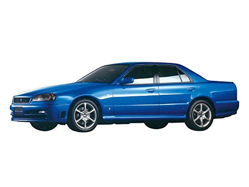 Aoshima 55335 Nissan ER34 Skyline 25GT Turbo 2001 1/24 scale kit