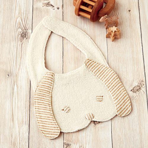 Hamanaka H434-532 Organic Cotton Handicraft Kit Baby Bib Dog
