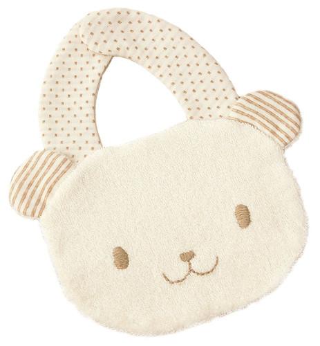 Hamanaka H434-534 Organic Cotton Handicraft Kit Baby Bib Bear
