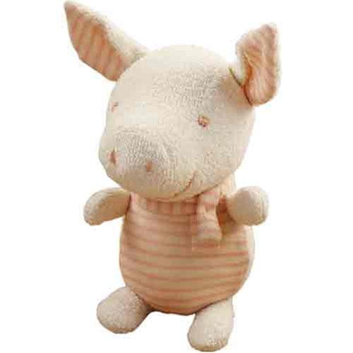 Hamanaka H434-519 Organic Cotton Handicraft Kit Stuffed Animal Baby Pig