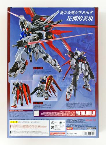 Bandai Metal Build Gundam SEED Aile Strike Gundam Figure