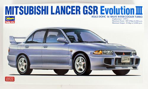 Hasegawa 20350 Mitsubishi Lancer GSR Evolution 3 1/24 Scale kit