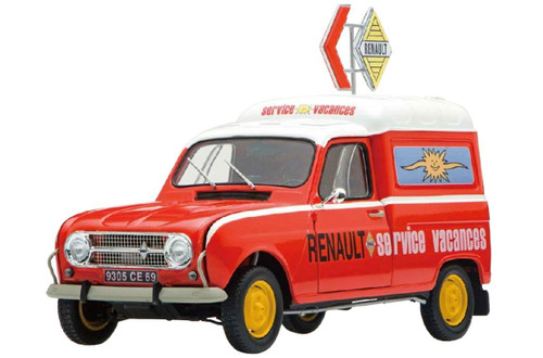 Ebbro 25012 Renault 4 Fourgonnette Service Car 1/24 scale plastic model kit