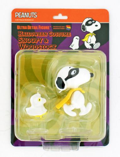 Medicom UDF-375 Ultra Detail Figure Peanuts Series 7 Halloween Snoopy & Woodstock