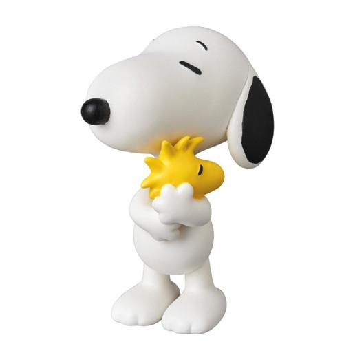 Medicom UDF-379 Ultra Detail Figure Peanuts Series 7 Snoopy Holding Woodstock