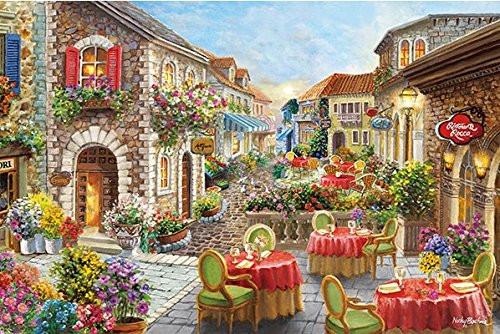 APPLEONE Jigsaw Puzzle 1000-823 Nickey Boehme Promenade (1000 Pieces)