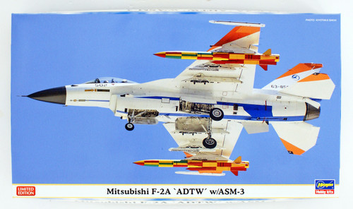 Hasegawa 02274 Mitsubishi F-2A 'ADTW' w/ASM-3 1/72 scale kit