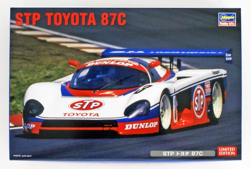 Hasegawa 20351 STP Toyota 87C 1/24 scale kit